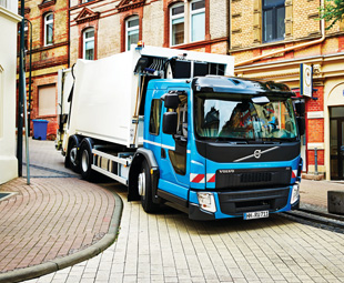 Volvo's new low-entry FE cruiserweight range is aimed at refuse collection and city distribution applications.