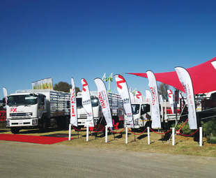 Isuzu Truck's range is growing, as is its market share within the agricultural sector.