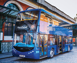 Optare launches MetroDecker