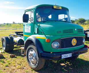 The oldest trucks in the Clotan Steel fleet date back to the 1960s, a time when truck drivers needed to be made of sterner stuff.