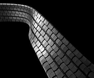 Treading in your tyres tracks