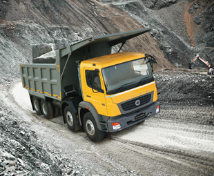 Daimler's BharatBenz range of trucks from India is also being exported to selected Asian and African markets with Fuso branding.