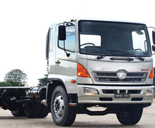 Rectifying a 2,5 percent market share loss will be a priority for Hino SA's new management.