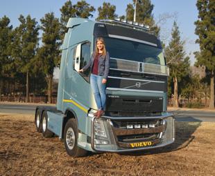 Tanya Behmer, sales representative at Aero Truck.