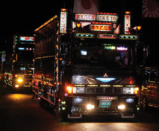 Japanese Dekotora trucks are possibly the most extreme examples of Asia's truck-customising culture.
