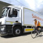 London lorry designed for cycle safety