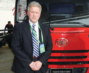 FAW's Robert Doub believes that Chinese customers don't want sophisticated trucks.