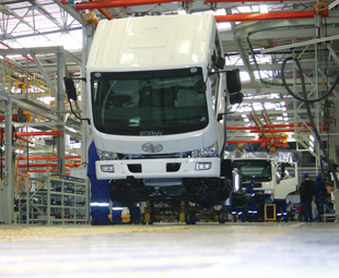 The 28 000 m2 plant will supply trucks to the local market, as well as to the rest of Africa.