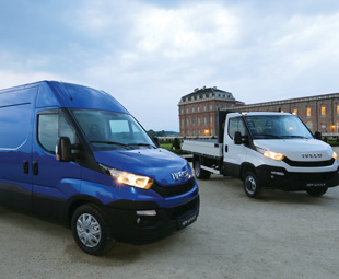Iveco's Daily has a new face, and different frames for bus and truck derivatives.