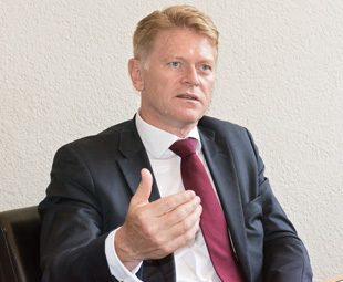 Anders Nielsen, chief executive officer of MAN
