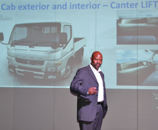 Godfrey Hani, head of Fuso Trucks SA, says the launch of this vehicle is a defining moment for the company.