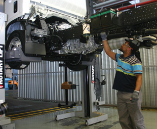 Isuzu Trucks has invested  R17 million in its Port Elizabeth assembly plant.