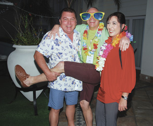The Pirates of the Carribean cruise and Hawaiian evening showed that the removals industry knows how to have fun!