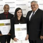 Two top VWSA trainees