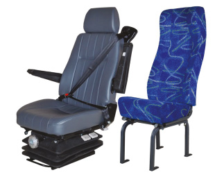 Seat King offers a range of cloth and vinyl choices and is constantly looking at new patterns and improved quality. All seats, with the exception of two models, for which it would be impractical, can legally be fitted with three-point safety belts.