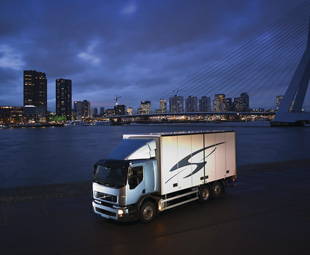 Volvo Trucks has introduced a methane gas-fuelled version of the FE distribution range.