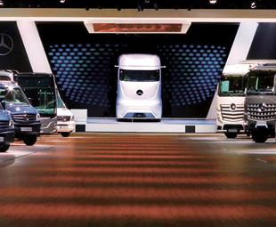 Daimler delights IAA visitors!