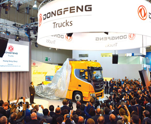 The reveal of the KX saw a media frenzy, as journalists from around the world photographed the global debut of the new truck.