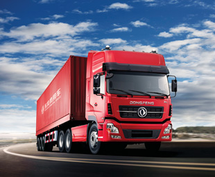 The Dongfeng Truck range comprises the Dongfeng KX heavy-duty truck; Dongfeng KL heavy-duty regional and long-distance truck; Dongfeng KC for heavy-duty construction, mining and other off-road applications; and Dongfeng KR medium-duty truck for local and regional transportation.