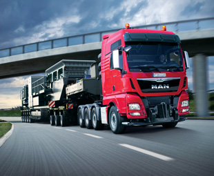 MAN´s top-of-the-range TGX D38 truck made its public debut at the IAA.