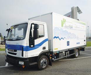 A hybrid EuroCargo has also been developed.