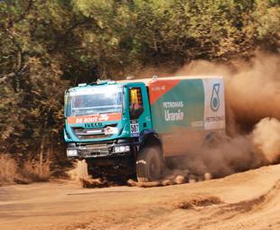 Dakar driver for a day