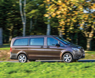 Even at first glance, the new Vito's bodywork exudes high quality; apparent from aspects such as narrow, even joints.