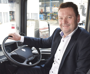 Steve Wager has huge respect for South African transport operators, and the feeling seems to be mutual – the company's market share now borders on 12 percent.