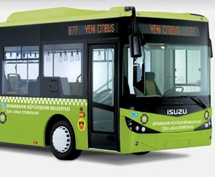 Isuzu's Turkish buses