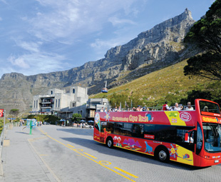 City Sightseeing allows visitors to Cape Town and Johannesburg to experience these cities at their own pace.