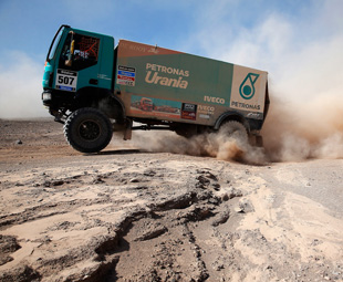 Iveco's new facility starts with a bang!