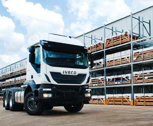 Iveco is entering two Stralis Hi Ways and a Trakker Hi-Land single reduction into  Truck Test 2015.