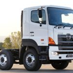 Hino shows how construction is done