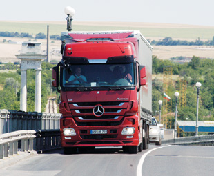 A Mercedes-Benz Actros, similar to this red one, will again feature in Truck Test.