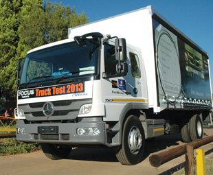 The Atego performed impressively in Truck Test 2013.