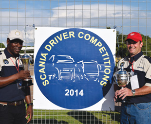 Nicolaas Kallie Truter and Lawrence Nkwinika won the truck and bus driver categories respectively.