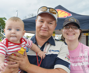 Dewald and Desire Coertse are passionate truckers!