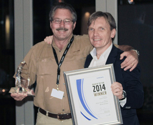 Sales Dealer of the Year, Volvo Truck Centre, Bloemfontein