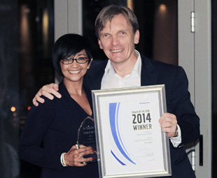 Aftersales Dealer of the Year, Volvo Truck Centre, Upington