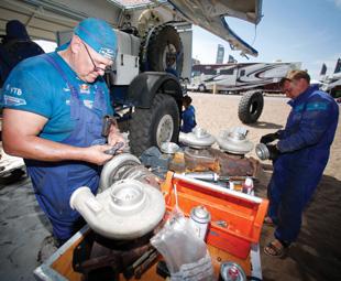 The thrills and spills of Dakar 2015