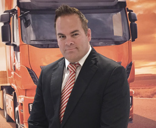 Brian Steenkamp, Iveco's new head of network.
