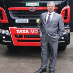 Ravi Pisharody, executive director of commercial vehicles at Tata Motors, wants to treble the number of vehicles the company exports within four years.