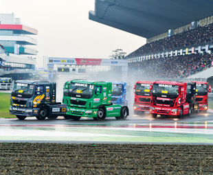 Truck racing goes to Bollywood!