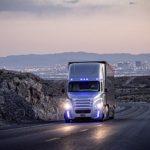 Self-driving trucks hit the streets!