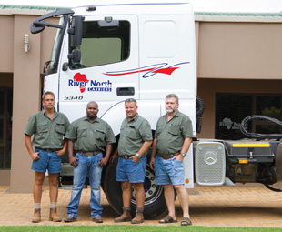 River North Carriers is delighted with how John William's Commercial Vehicles honours its agreements.