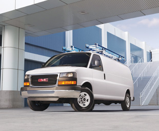 GMC's Savana is typical of the American van designs now being displaced by European-style competition.