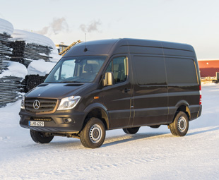 The Sprinter 4x4 has been designed to handle a variety of applications in the harshest environments.