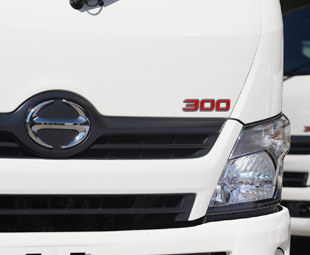 More capability for Hino 300-Series