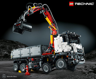 Mercedes-Benz launches new LEGO-edition Arocs