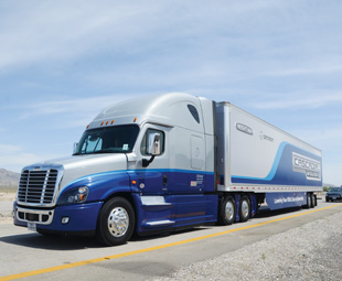 The Freightliner Cascadia Evolution is already available to customers.